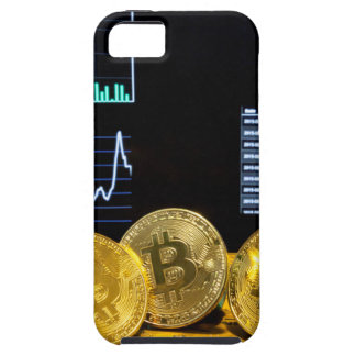 Bitcoin trio circuit market charts clean iPhone 5 case