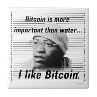 Bitcoin Warrior Tile