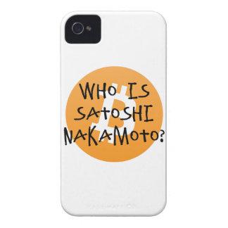 Bitcoin - Who is Satoshi Nakamoto? iPhone 4 Cover