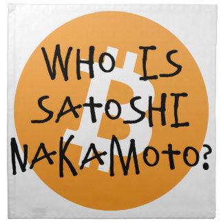 Bitcoin - Who is Satoshi Nakamoto? Napkin