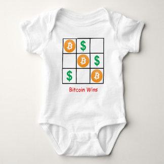 Bitcoin Wins Baby Bodysuit