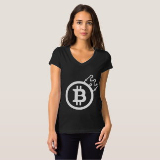 BITCOIN WOMEN'S T-SHIRT - CRYPTOCURRENCY