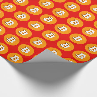"""BITCOIN"" WRAPPING PAPER"