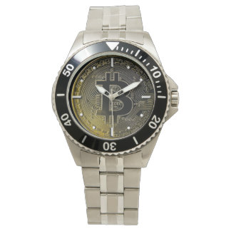 Bitcoin Wrist Watches