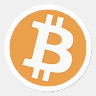 BitCoinSticker Classic Round Sticker