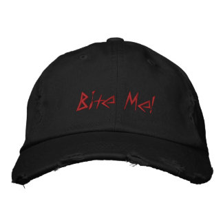 Bite Me! Embroidered Hat
