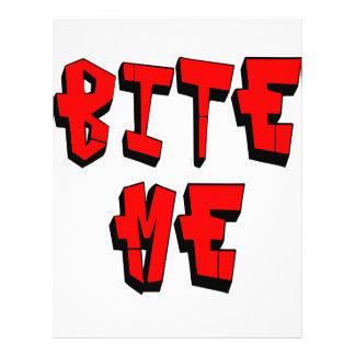 Bite Me Custom Flyer