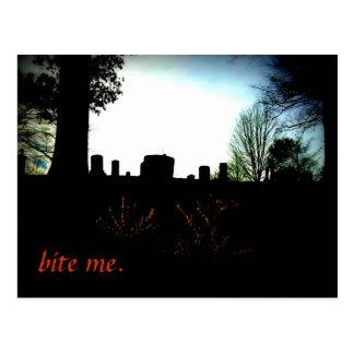Bite Me Postcard
