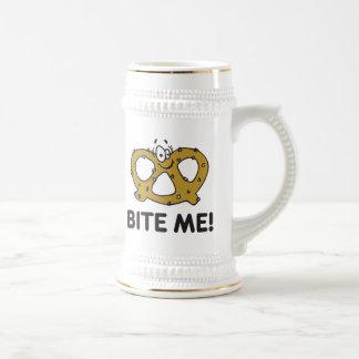 Bite Me Pretzel Gift Mugs