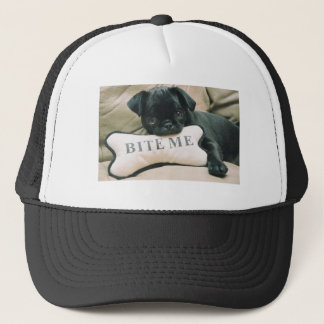 BITE ME PUG HAT