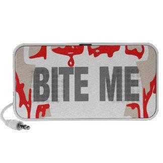 Bite me portable speakers