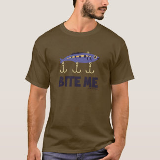 BITE ME - SPORTY SLANG - FISHING T-SHIRT