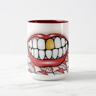 Bite Me Two-Tone Coffee Mug