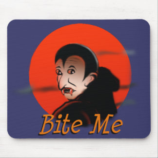Bite Me Vampire Mouse Pad