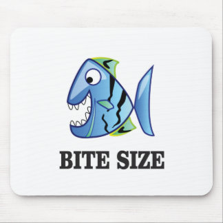 bite size fish mouse pad