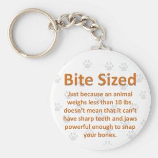 Bite Sized Key Ring