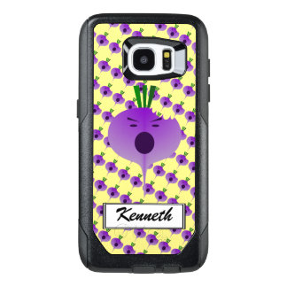 Bite The Angry Turnip by Kenneth Yoncich OtterBox Samsung Galaxy S7 Edge Case