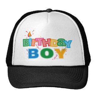 Bithday Boy Letters Hat