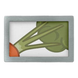 Bitten Carrot Belt Buckle