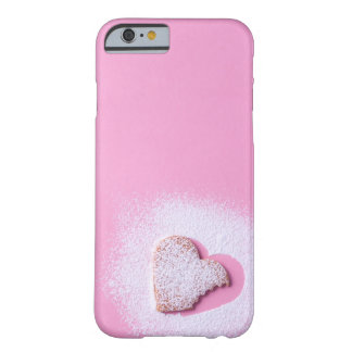 Bitten heart shaped cookie barely there iPhone 6 case