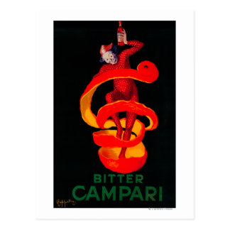 Bitter Campari Vintage PosterEurope Postcards