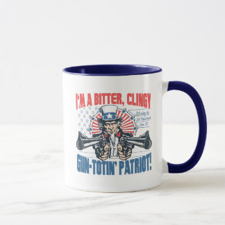 Bitter, Clingy Gun-Toting Patriot Uncle Sam Gear Mug