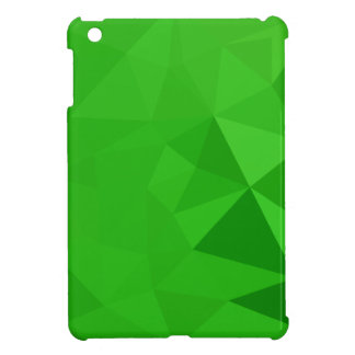 Bitter Lemon Green Abstract Low Polygon Background Case For The iPad Mini