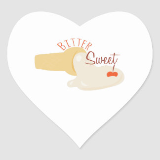 Bitter Sweet Heart Sticker