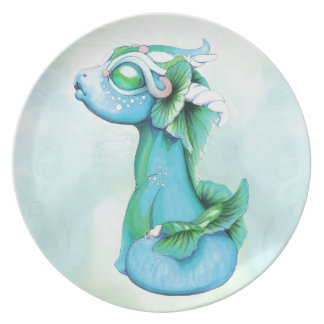 Bitty Water Dragon Plate