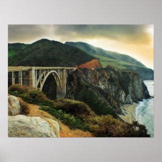 Bixby Bridge Big Sur Print