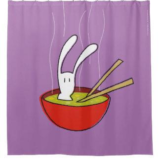 BixTheRabbit Shower Curtain