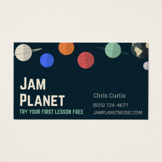 biz for jam wiz business card