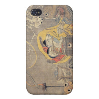 Bizarre Ancient Japanese Painting of Demons Covers For iPhone 4