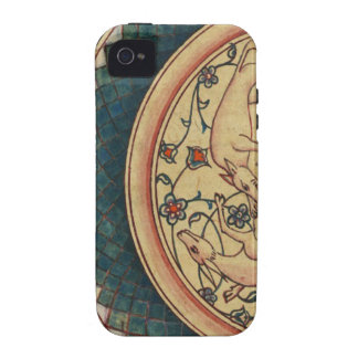Bizarre and Beautiful Medieval Manuscript Vibe iPhone 4 Cases