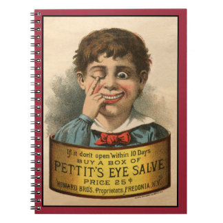 Bizarre and Funny Vintage Ad Note Books