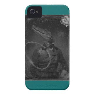 Bizarre Caiman Vintage Collage iPhone 4 Case-Mate Cases