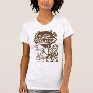 Bizarre Giraffe in Egypt T-Shirt