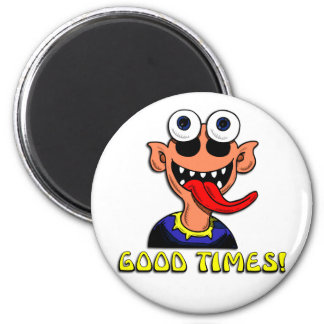 Bizarre Icon Buttons and Stickers 6 Cm Round Magnet