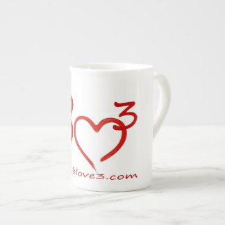 Bizarre Love Triangle Bone China coffee cup Bone China Mug