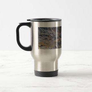 Bizarre Mountain texture Coffee Mug