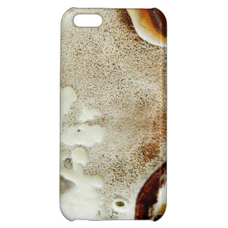 Bizarre nature - bright orange abstract texture iPhone 5C covers