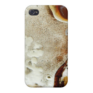 Bizarre nature - bright orange abstract texture cover for iPhone 4