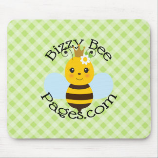 Bizzy Bee Pages Mouse Pad
