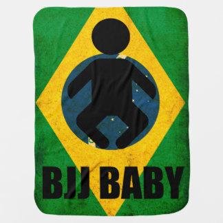 BJJ Baby Blanket- Brazilian Jiu Jitsu Flag Design Buggy Blankets