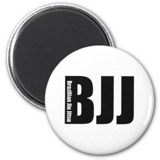 BJJ - Brazilian Jiu Jitsu 6 Cm Round Magnet