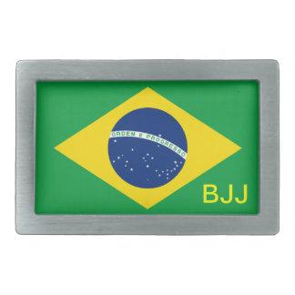 BJJ, Brazilian Jiu-Jitsu Rectangular Belt Buckles
