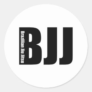 BJJ - Brazilian Jiu Jitsu Round Sticker