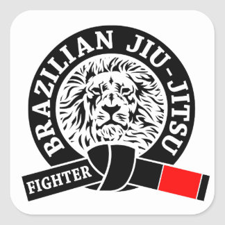 BJJ - Brazilian Jiu - Jitsu Square Sticker