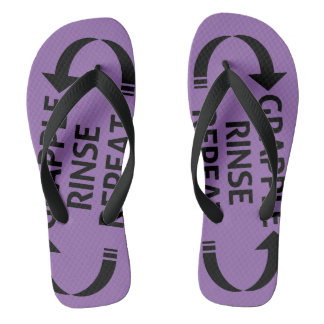 BJJ Ranked sandals (Purple belt)