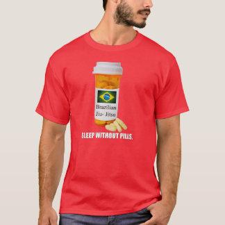 BJJ Sleep Without Pills Dark T-shirt